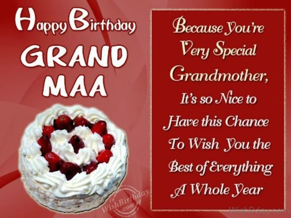 Have A Fantastic Birthday To A Fantastic Grandmother