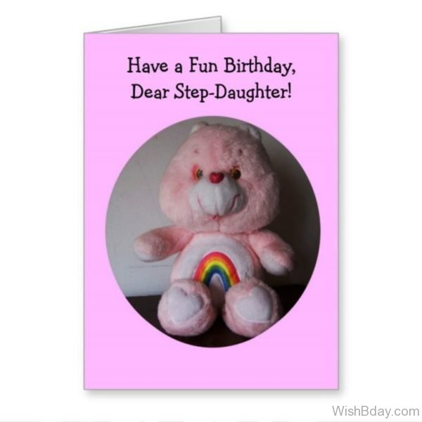 Have A Fun Birthday Dear Step Daughter