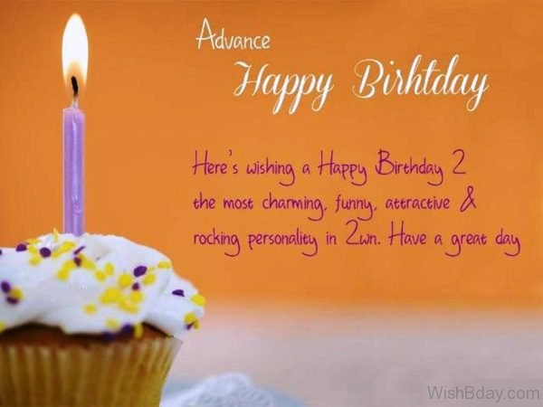 Here s Wishing a Happy Birthday To The Most Charming
