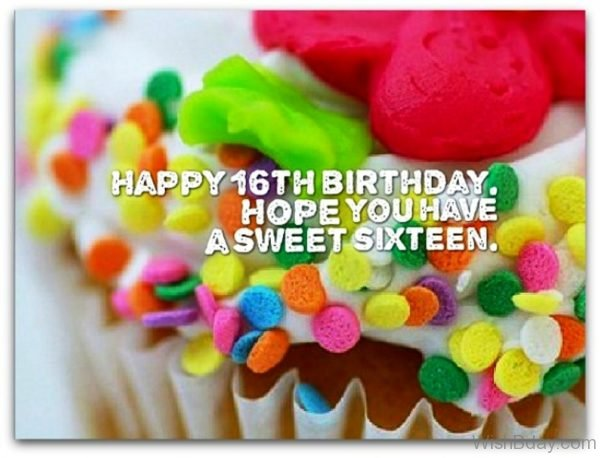 Hope You Have A Sweet Sixteen