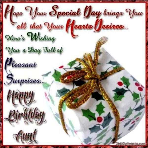 Hope Your Special Day Bring You All That Your Hearts Desires