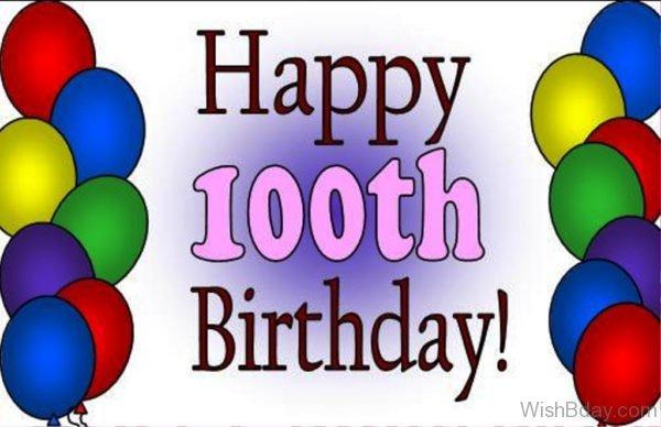 Hundred BIrthday Wishes