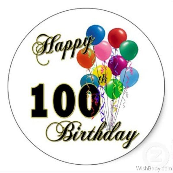 Hundredth Birthday Wishes