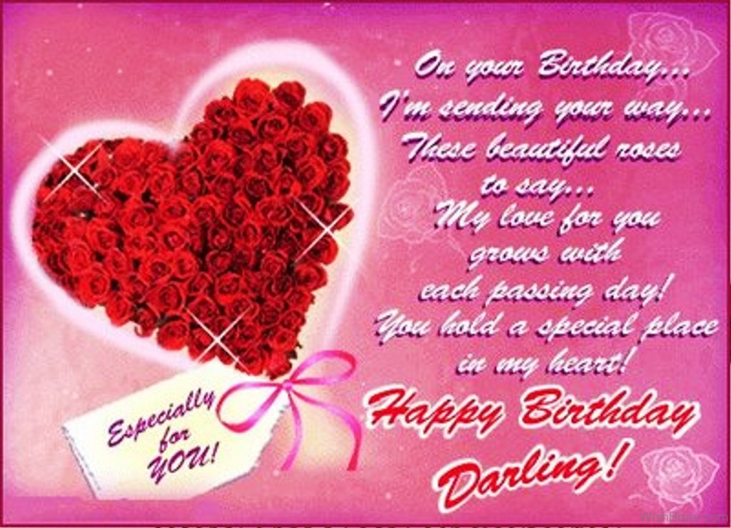 Love Birthday Quotes Simple 63 Romantic Happy Birthday Wishes For Her