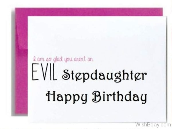 I Am So Glad You Are Not Evil Stepdaughter