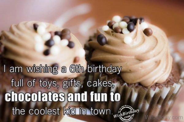 I Am Wishing A Sixth Birthday Full Of Toys
