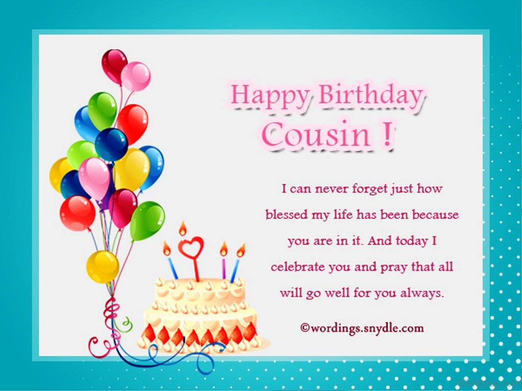 100 happy birthday cousin quotes and messages
