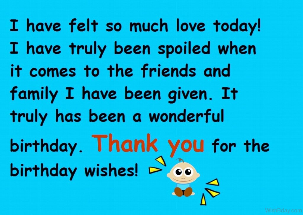 43 Thank You For The Birthday Wishes – Thank You for the Birthday Greeting