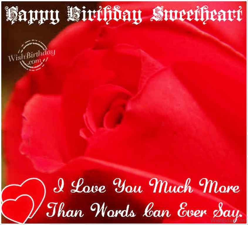 I Love You More Than Quotes: 94 Birthday Wishes For Girlfriend