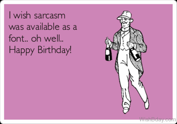 I Wish Sarcasm Was Available As A Font