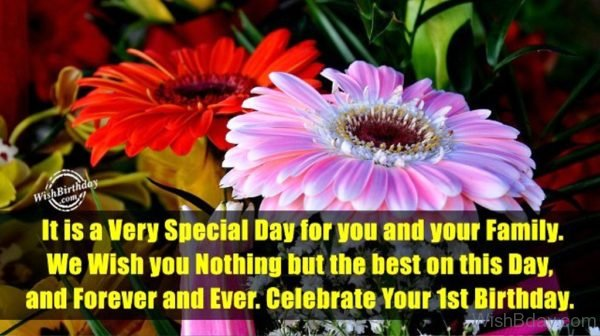 It Is A Very Special Day For You