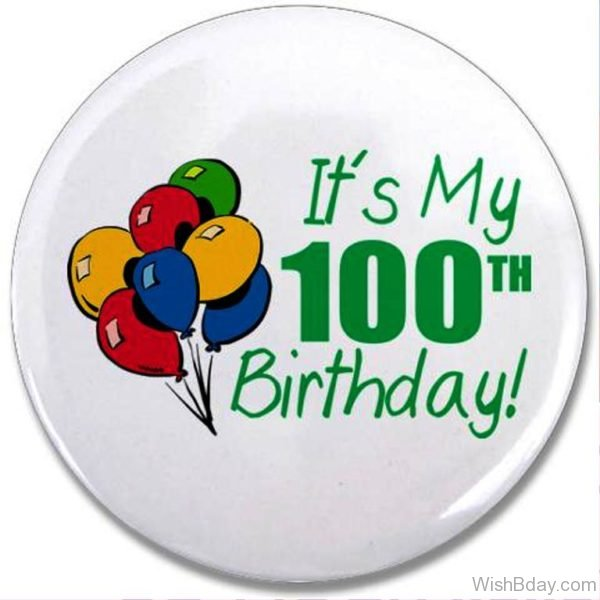 Its My Hundred Birthday
