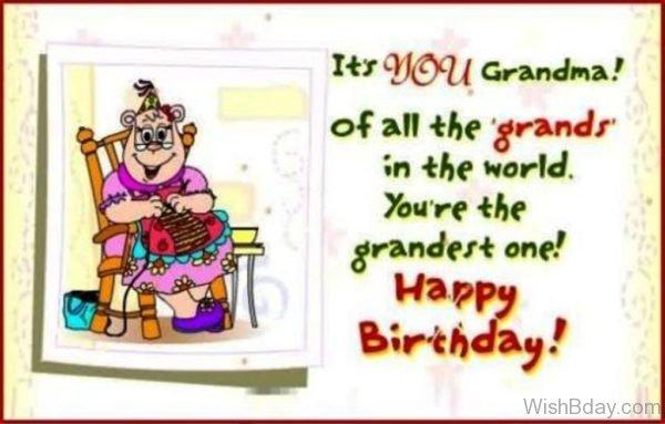 Its You Grandma