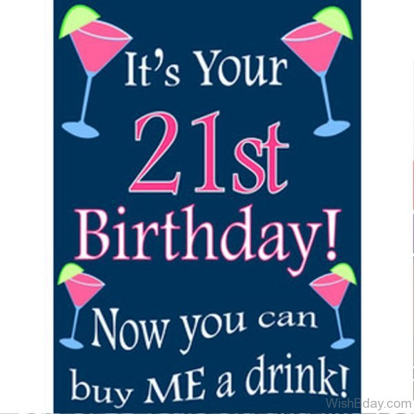 Its Your Twenty First Birthday