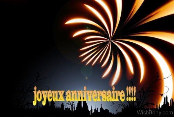 Joyeux Anniversaire Happy Birthday 2