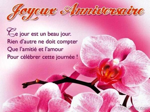 Joyeux Anniversaire Happy Birthday Image 3