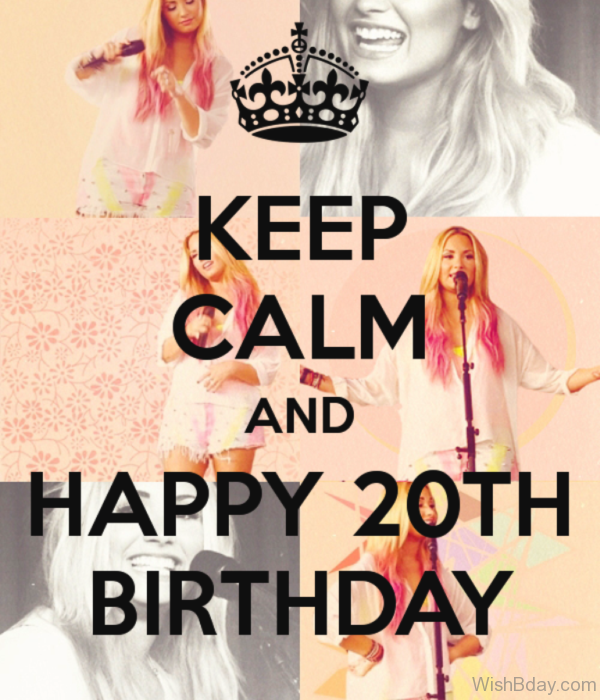 Keep Calm And Happy Birthday 1