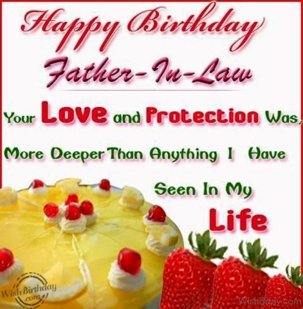 Love And Protection of Father in law