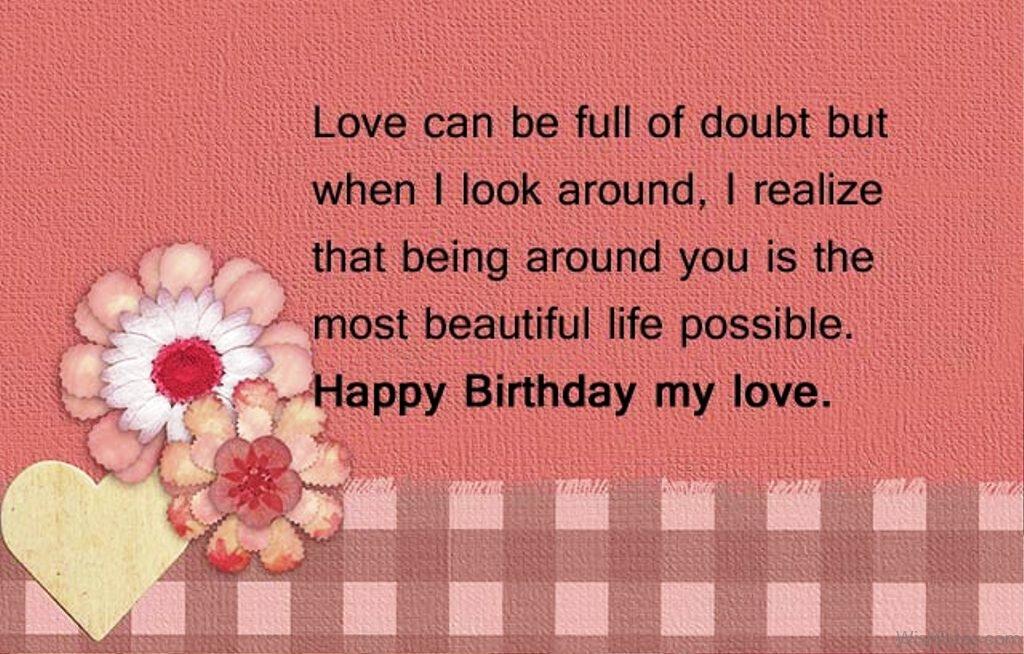 63 Birthday Wishes For Boyfriend