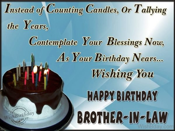 Many Happy Returns Of The Day Brother In Law
