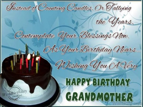 Many Happy Returns Of The Day To A Loveable Grandma