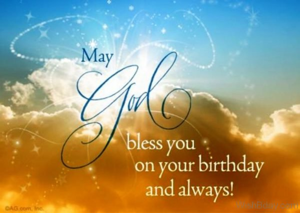 May God Bless On Your Birthday
