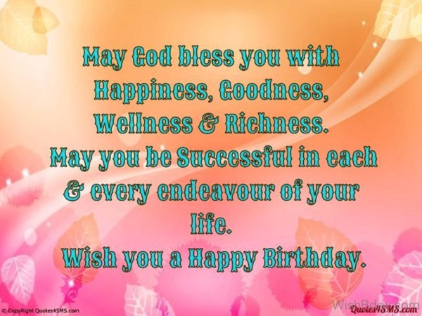 May God Bless You With Happiness 1