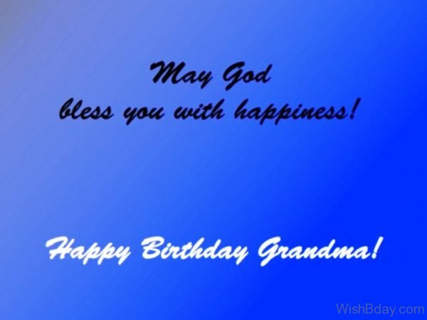 May God Bless You With Happiness