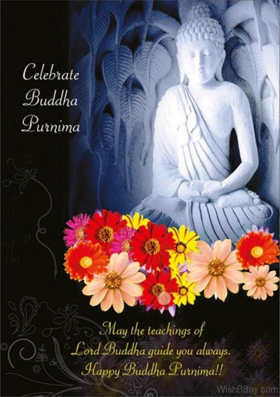 May The Teachings Of Lord Buddha Guide You Always