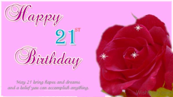 May Twenty First Bring Hopes
