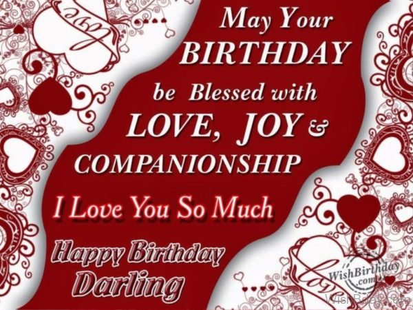 May Your Birthday Be Blessed With Love