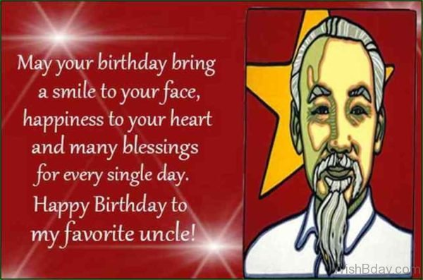 May Your Birthday Bring A Smile To Your Face 1
