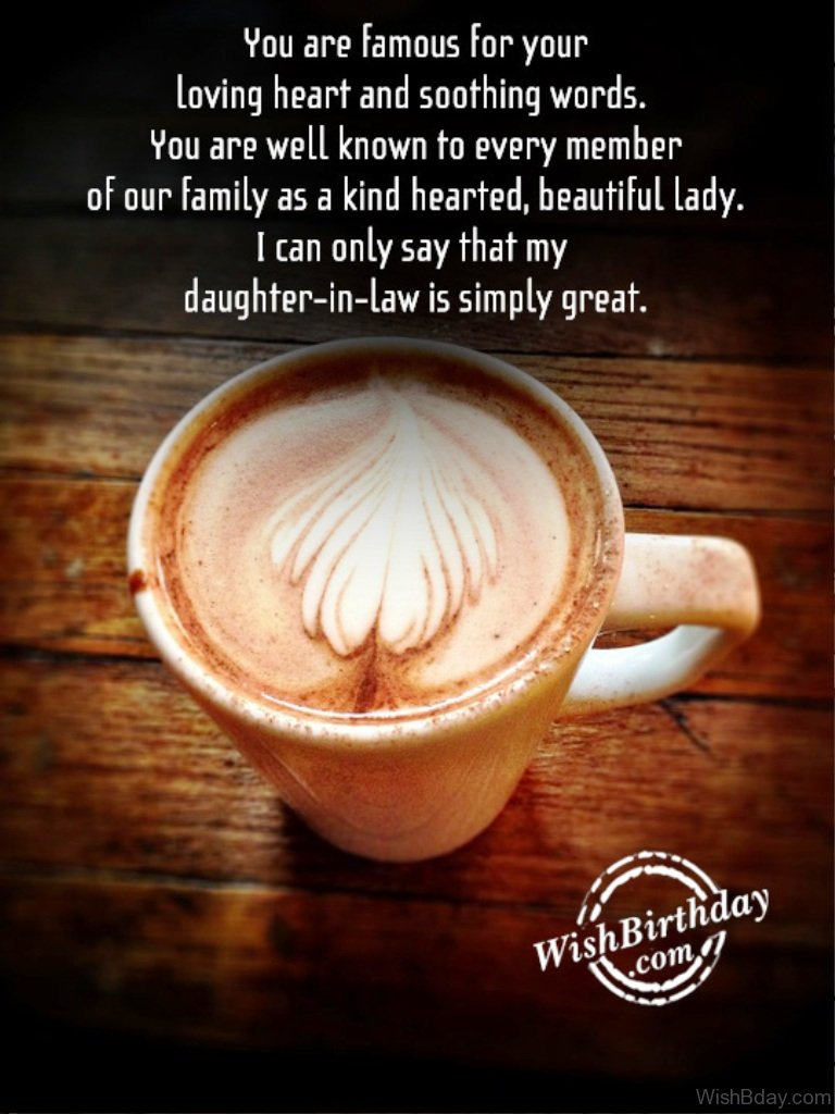 44 birthday wishes for daughter in law my daughter in law is simply great happy birthday 1 kristyandbryce Choice Image
