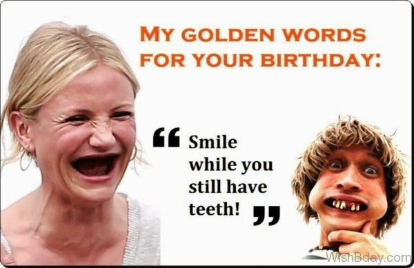 My Golden Words For Your Birthday
