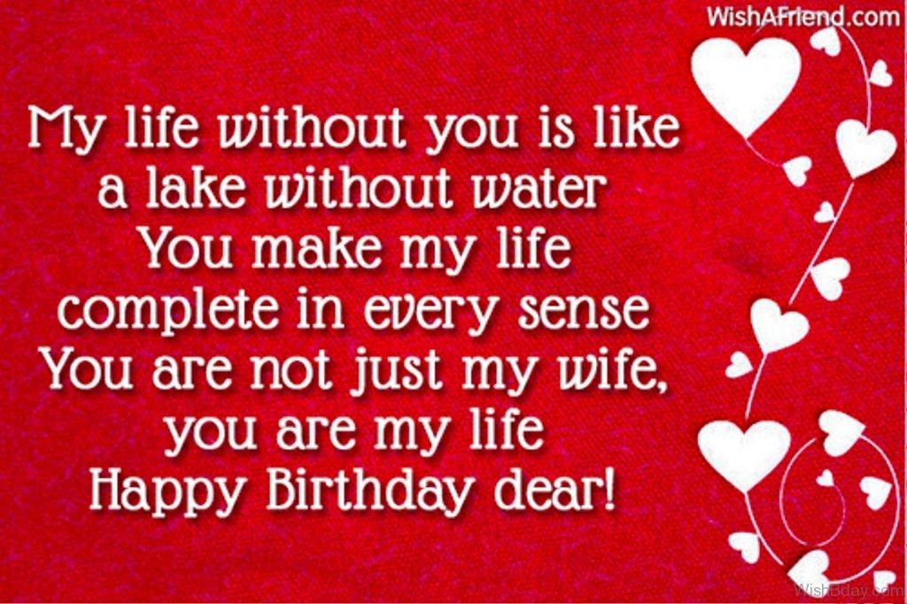63 Birthday Wishes For Boyfriend – Wife Birthday Greetings