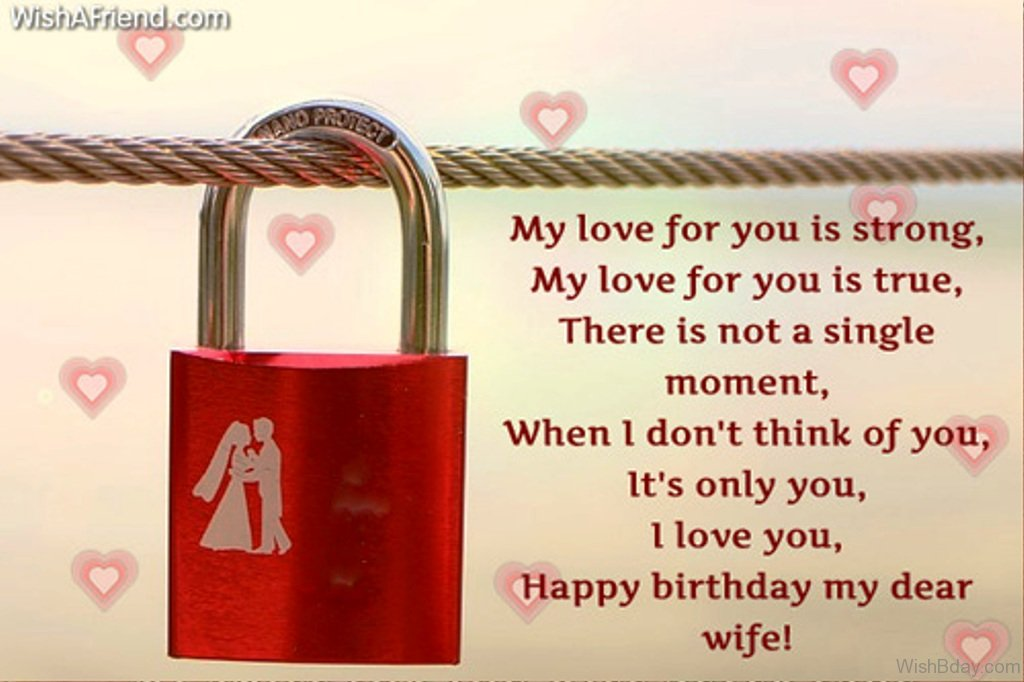 52 birthday wishes for wife my love for you is true m4hsunfo