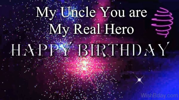 My Uncle You Are My Real Hero