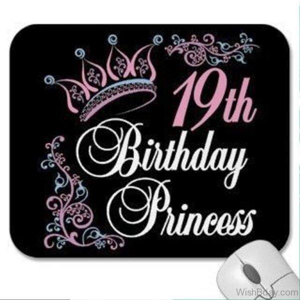 Nineteen Happy Birthday