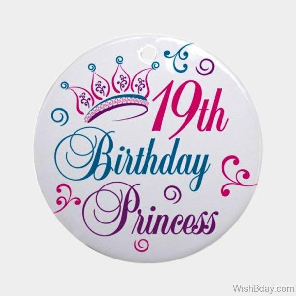 Nineteenth Birthday Princess