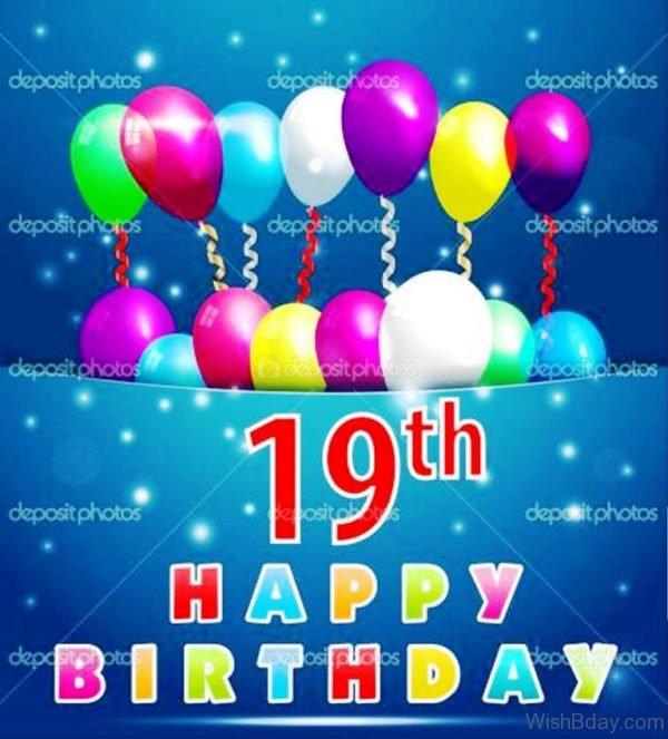 Nineteenth Happy Birthday 2