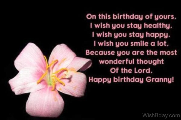 On This Birthday Of Yours