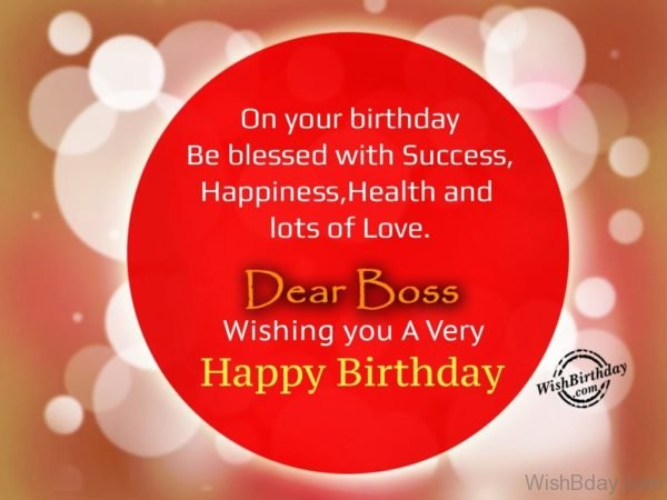 On Your Birthday Be Blessed With Success