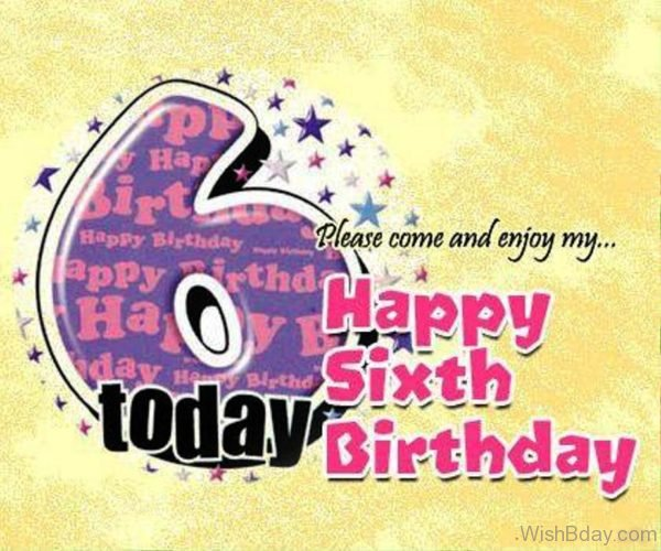 Please Come And Enjoy My Happy Birthday