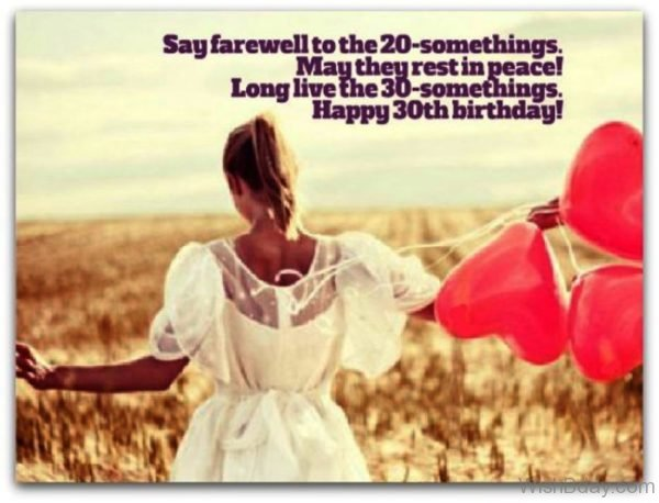 Say Farewell To The Twenty Somethings