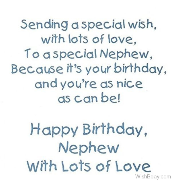 Sending A Special Wish With Lots Of Love