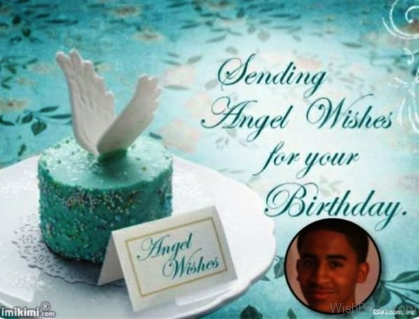 Sending Angel Wishes For Your Birthday