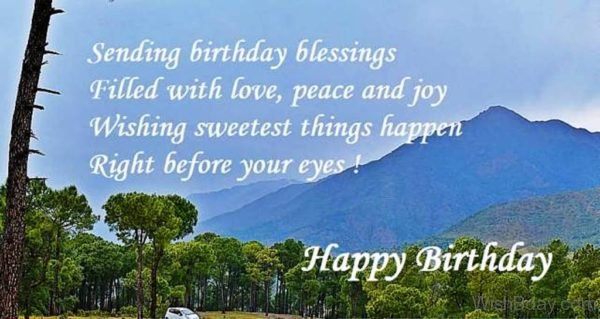 Sending Birthday Blessings Filled With Love 1