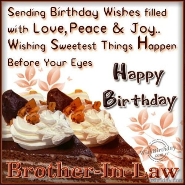 Happy Birthday Wish For Brother In Law The Mercedes Benz