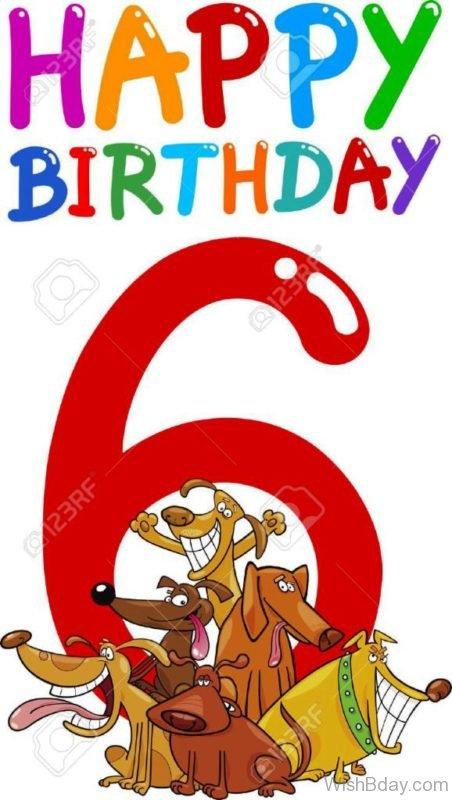 Sixth Birthday Wishes