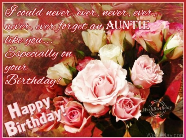 Special Wishes For Special Aunt